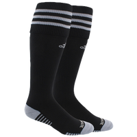 adidas Team Copa Zone Cushion III Socks - Men's - Black / Grey