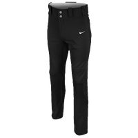 Nike Core DF Open Hem Baseball Pants - Boys' Grade School - All Black / Black