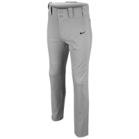 Nike Core DF Open Hem Baseball Pants - Boys' Grade School - Grey / Grey