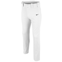 Nike Core DF Open Hem Baseball Pants - Boys' Grade School - All White / White