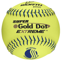 Worth UC12CYXT Super Gold Dot Extreme Softball - Men's - Yellow / Navy