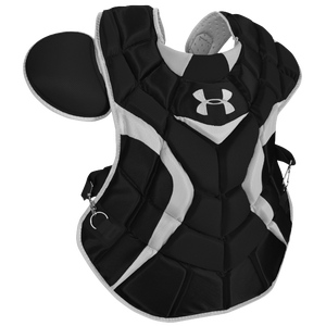 Under Armour Pro Chest Protector - Men's - Black/Silver