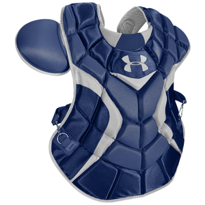 Under Armour Pro Chest Protector - Men's - Navy/Silver