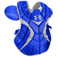 Under Armour Pro Chest Protector - Men's - Blue / Silver