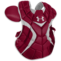 Under Armour Pro Chest Protector - Men's - Maroon / Silver