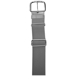 "All Star 1 1/2"" Elastic Uniform Belt - Grey"