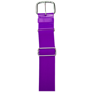 "All Star 1 1/2"" Elastic Uniform Belt - Purple"