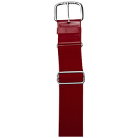 "All Star 1 1/2"" Elastic Uniform Belt - Maroon / Maroon"