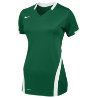 Nike Team Ace S/S Game Jersey - Women's - Dark Green / White