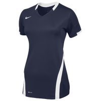 Nike Team Ace S/S Game Jersey - Women's - Navy / White
