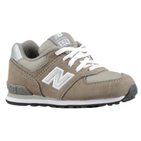 New Balance 574 - Boys' Toddler - Grey / Tan