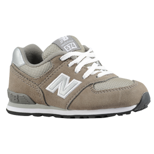 New Balance 574 - Boys' Toddler - Grey/Silver