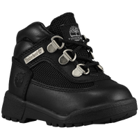 Timberland Field Boots - Boys' Toddler - All Black / Black