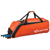 Easton E510W Wheeled Bat Bag - Orange / Black