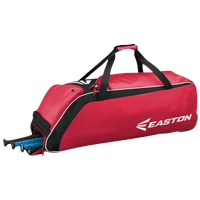 Easton E510W Wheeled Bat Bag - Red / Black