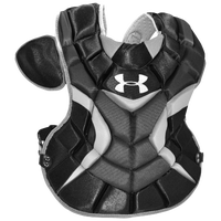 Under Armour Pro Senior Chest Protector - Boys' Grade School - Black / Silver