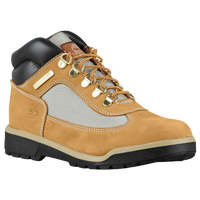 Timberland Field Boot Mid - Boys' Grade School - Tan / Grey