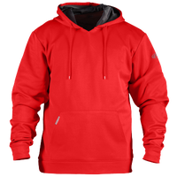 Rawlings Performance Fleece Hoodie - Men's - Red / Red