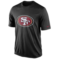 Nike NFL Dri-Fit Logo Legend T-Shirt - Men's - San Francisco 49ers - Black / Maroon