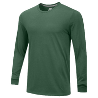 Nike Team Core L/S T-Shirt - Men's - Dark Green / Dark Green