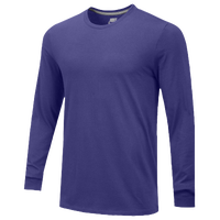 Nike Team Core L/S T-Shirt - Men's - Purple / Purple