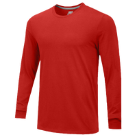 Nike Team Core L/S T-Shirt - Men's - Red / Red