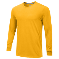 Nike Team All Purpose L/S T-Shirt - Men's - Gold / Gold