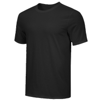 Nike Team Core S/S T-Shirt - Men's - All Black / Black