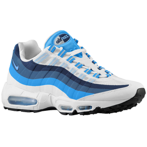 Nike Air Max 95 No Sew - Men's - White/Photo Blue/New Slate/University Blue
