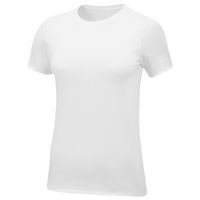 Nike Team Core S/S T-Shirt - Women's - All White / White