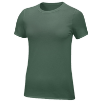 Nike Team Core S/S T-Shirt - Women's - Dark Green / Dark Green
