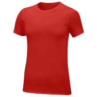 Nike Team Core S/S T-Shirt - Women's - Red / Red