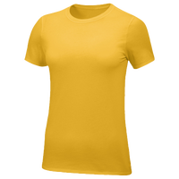 Nike Team All Purpose S/S T-Shirt - Women's - Gold / Gold