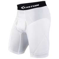 Easton Extra Protective Sliding Shorts - Men's - White / Black