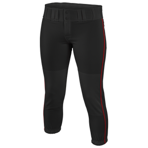 Easton Low Rise Pro Piped Pants - Women's - Black/Red