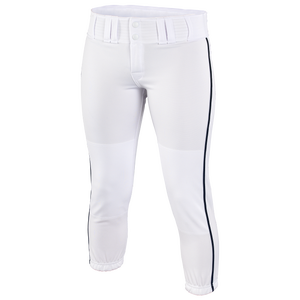 Easton Low Rise Pro Piped Pant - Women's - White/Black
