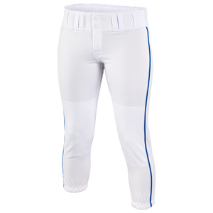 Easton Low Rise Pro Piped Pant - Women's - White/Royal