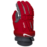 "Nike Vapor 13"" Gloves - Men's - Red / Grey"
