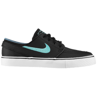 Nike SB Zoom Stefan Janoski - Men's - Black / Light Blue