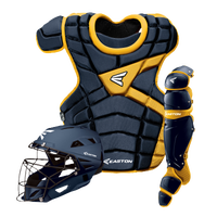 Easton M10 Catcher's Set - Men's - Navy / Gold
