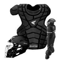Easton M10 Intermediate Catcher's Set - Youth - All Black / Black
