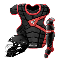 Easton M10 Intermediate Catcher's Set - Youth - Black / Red