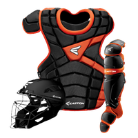 Easton M10 Intermediate Catcher's Set - Youth - Black / Orange