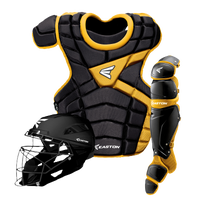 Easton M10 Intermediate Catcher's Set - Youth - Black / Gold