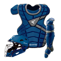Easton M10 Intermediate Catcher's Set - Youth - Blue / Silver