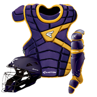 Easton M10 Intermediate Catcher's Set - Youth - Purple / Gold