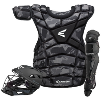 Easton M10 Intermediate Catcher's Set - Youth - Black / Grey
