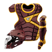 Easton M10 Catcher's Set - Youth - Maroon / Gold