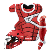 Easton M10 Catcher's Set - Youth - Red / White