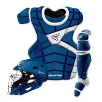 Easton M10 Catcher's Set - Youth - Blue / White